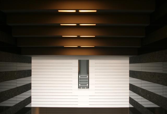 Boxed in MOMA interior shot San Fran 002