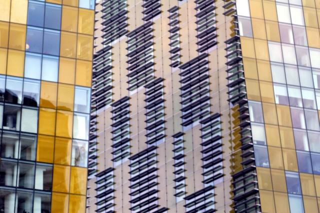 City Centre Color blur