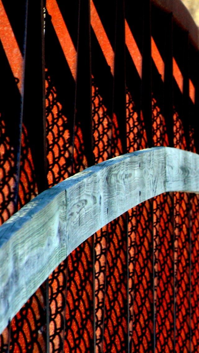 Detail of bridge hand rail, cropped from orig