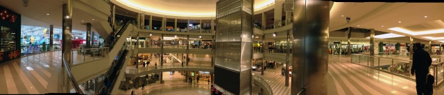 Panorama of 3rd Floor of Atrium area MoA