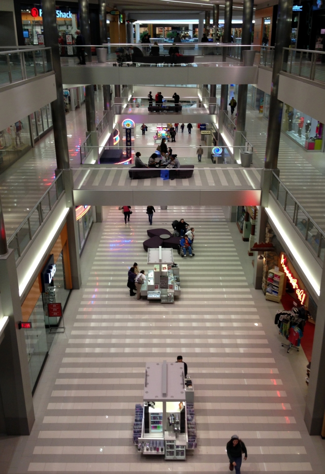 Three floors of halls, MoA