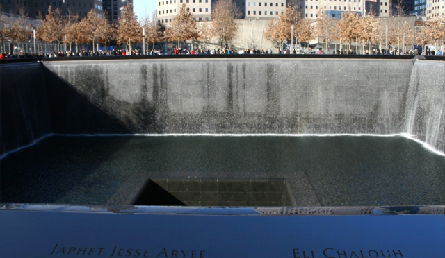 Two names, two victims of terror, together  911 Memorial