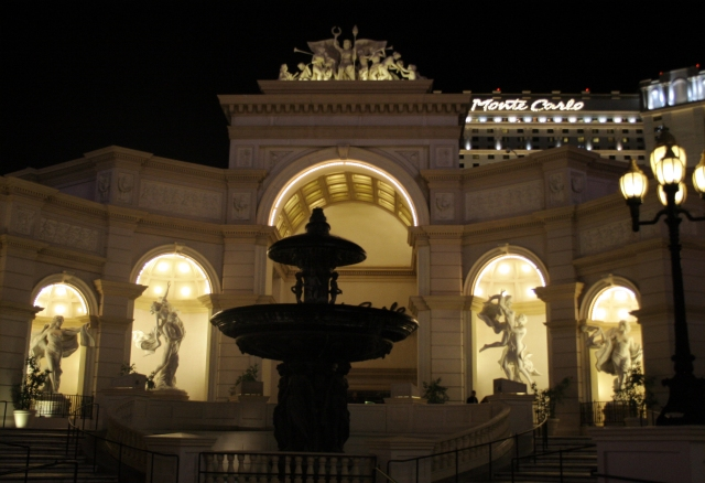 Entrance to Monte Carlo Casino Resort