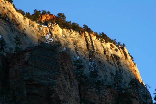 Light and dark in Zion's canyonlands 004