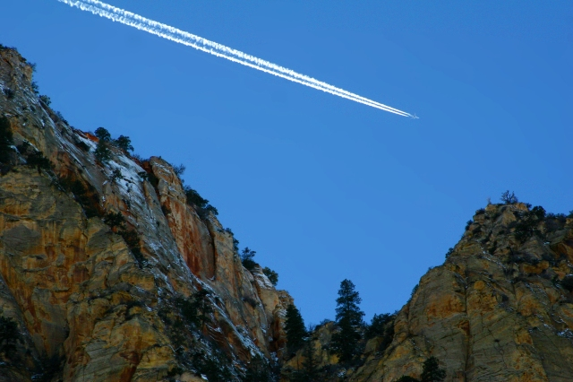 Spirit in the sky, Zion National Park
