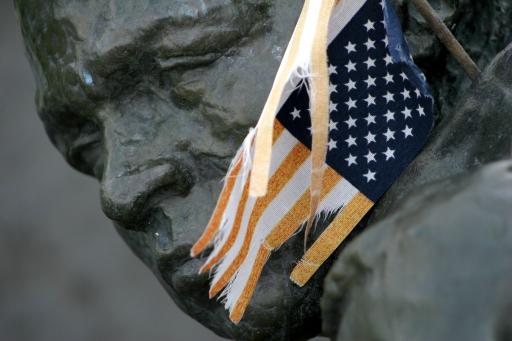Shredded dreams, Vietnam Memorial Neillsville WI