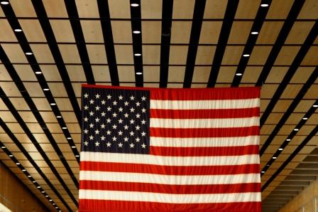 America Strong, Boston's Logan airport