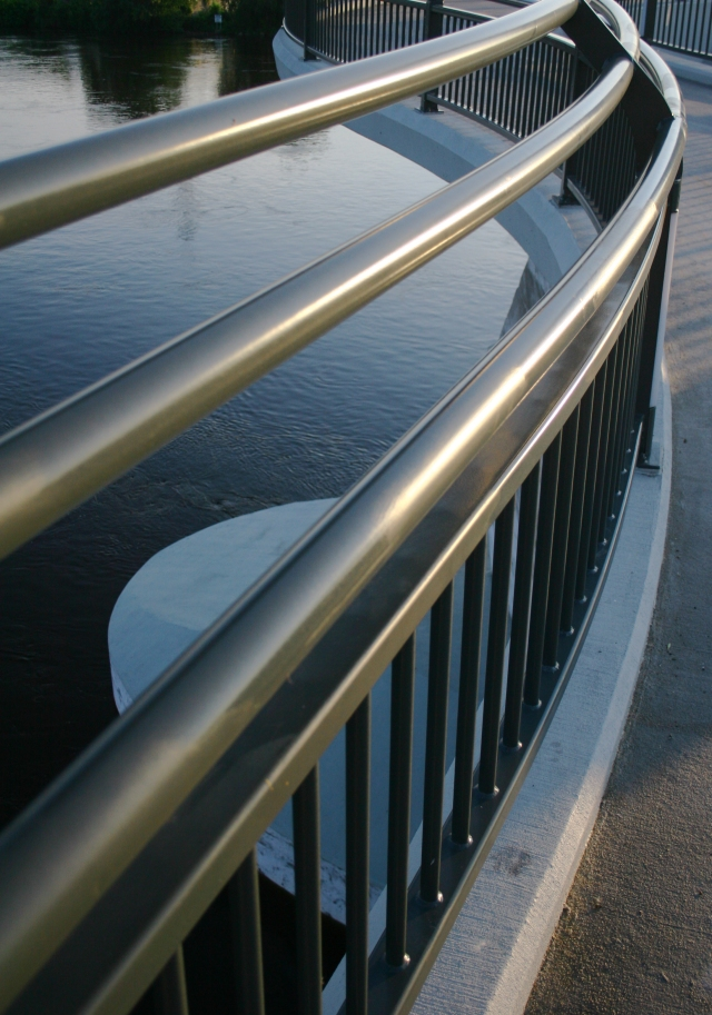 Railings of Lowry Bridge 002