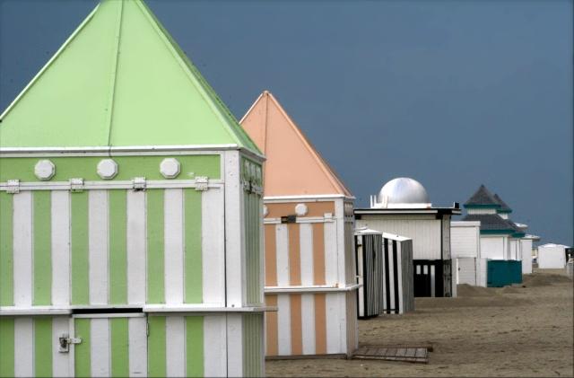 Beach booths on Miami Beach 002