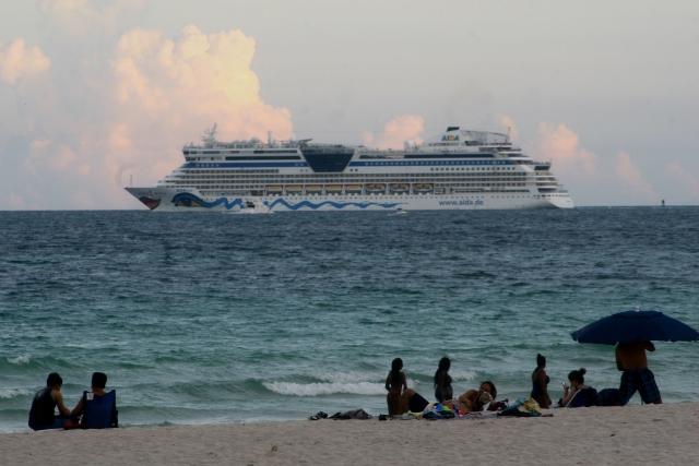Chillin and crusing Miami Beach scene