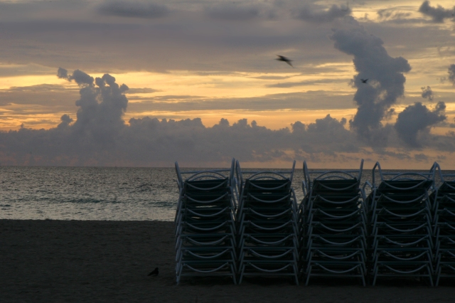 Early morning Miami Beach