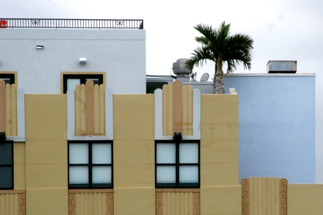 Miami architecture, Art Deco detail