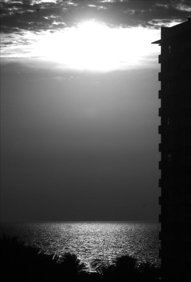 Sunrise on Miami Beach