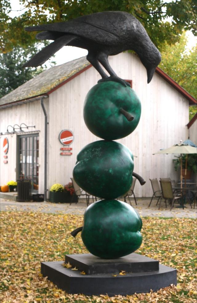 Crow Apples in Kent, CT