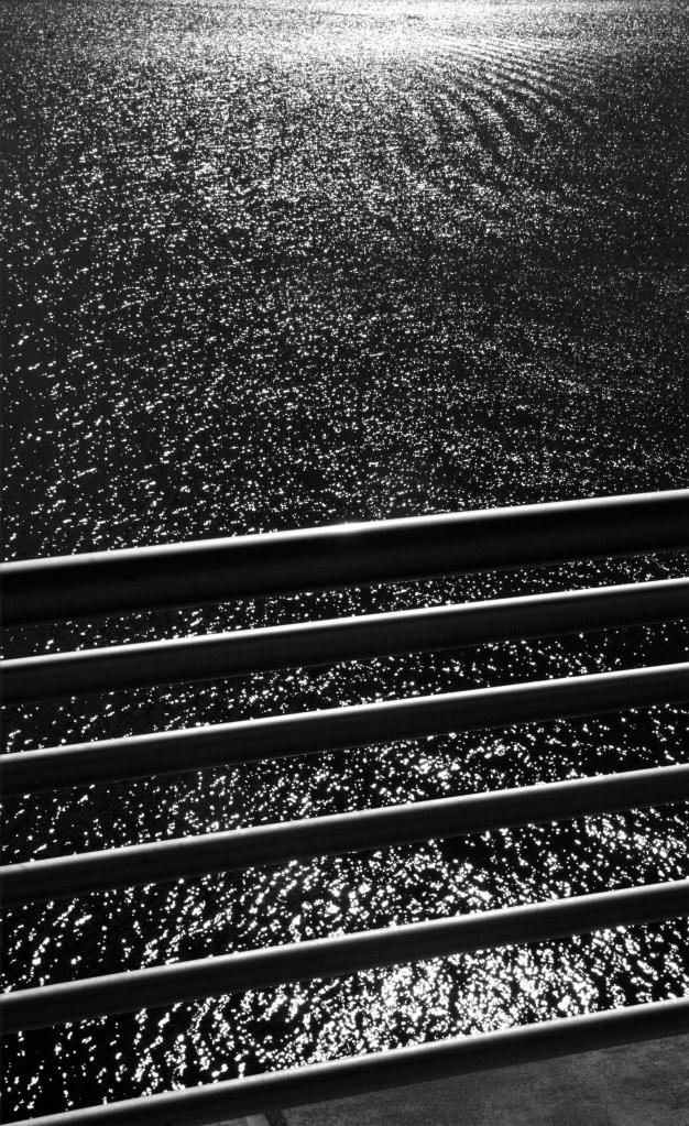 Railing and wave action Lake Monona, Madison, WI 003