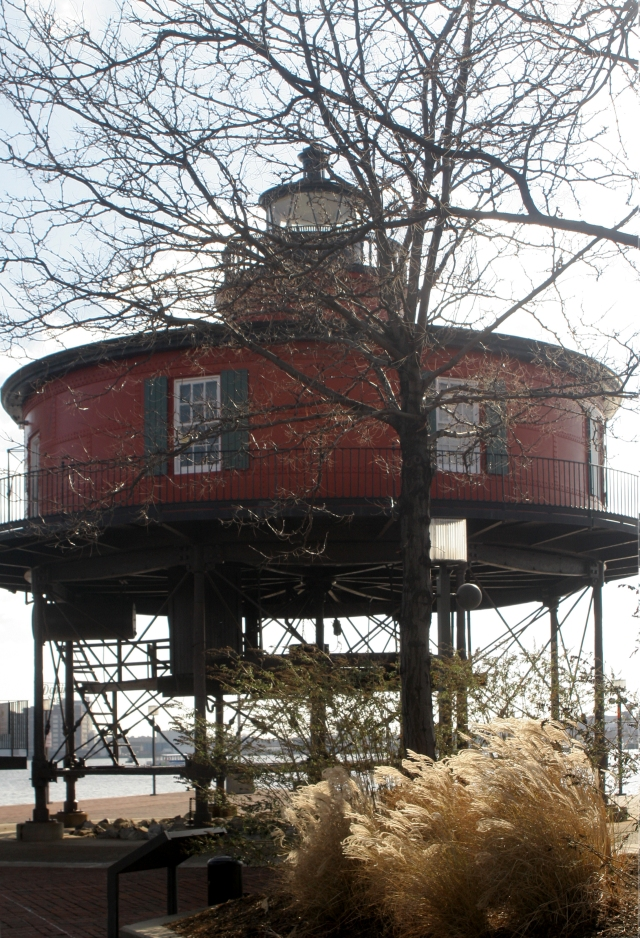 Seven Knoll Lighthouse, Baltimore Harbor