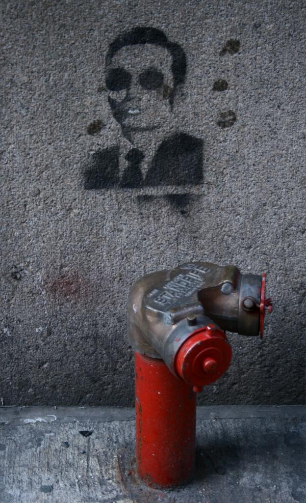Hydrant Surviellance, no pee zone, Manhattan