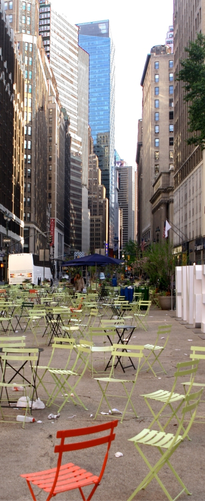 Pull up a chair in the Big Apple, Manhattan