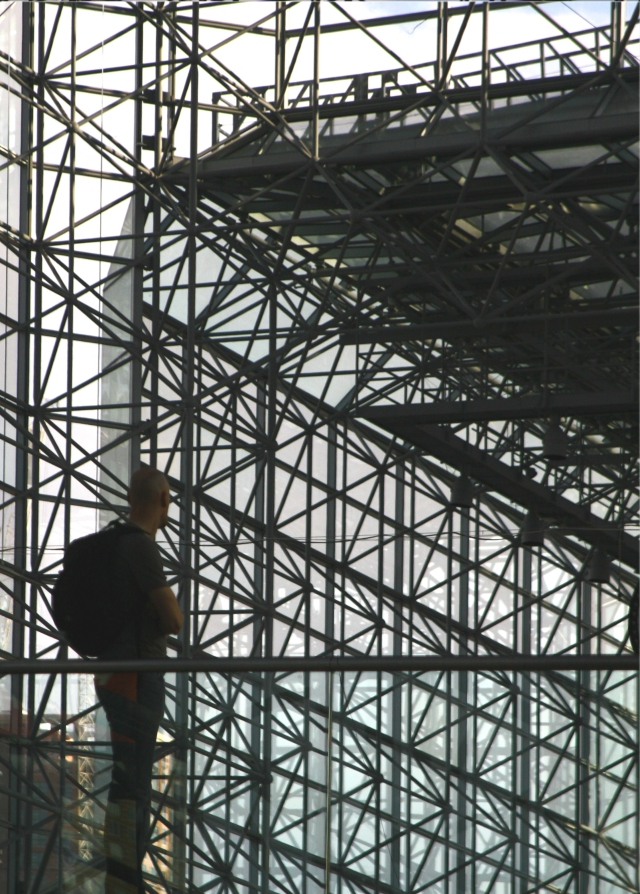 Spectator of the Spectacle, Jacob Javits Conv Ctr, Manhattan