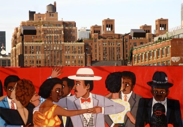 The Manhattan Mural Shuffle, Chelsea area Manhattan