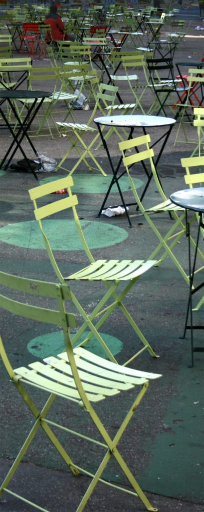 Unmusical chairs, NYC