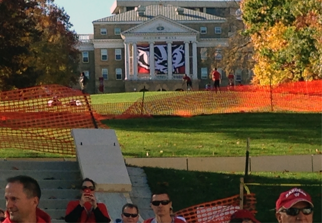 Bucky on Bascom Hill, Madison