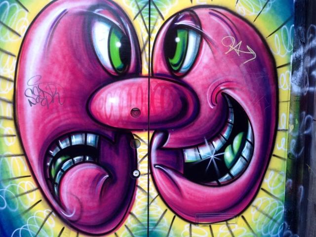 Street art Manhattan