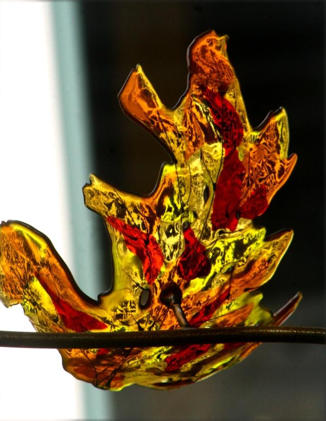 Arboretum glass art sculptures series 002
