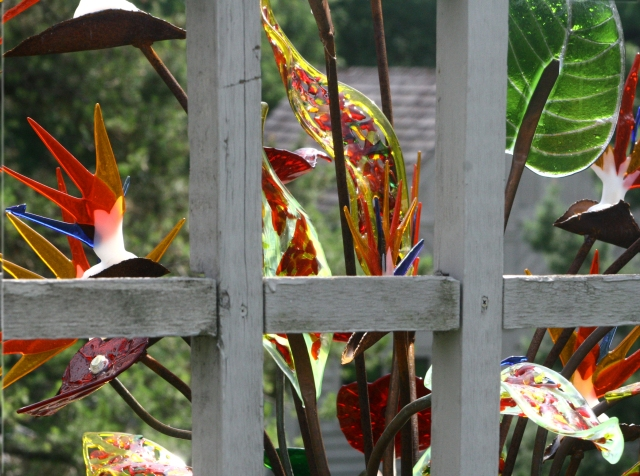 Arboretum glass art sculptures series 010