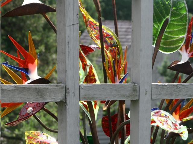 Arboretum glass art sculptures series 010