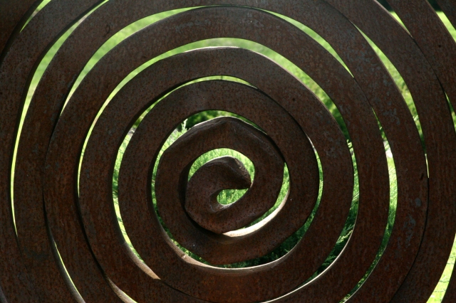 Arboretum metal art scluptures series 003