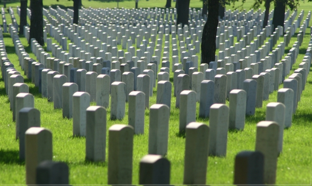 Domino Theory, Fort Snelling National Cemetery