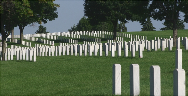 Rows of Service 003, Fort Snelling National Cemetery