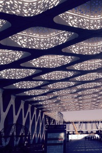 Marrakesh Airport awning - roof #3