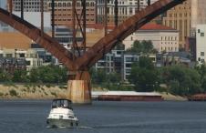 Boat near High Bridge