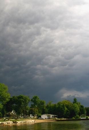 Dark skys over Ephram WI