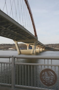 Hastings Bridge in full scale and artistically rendered