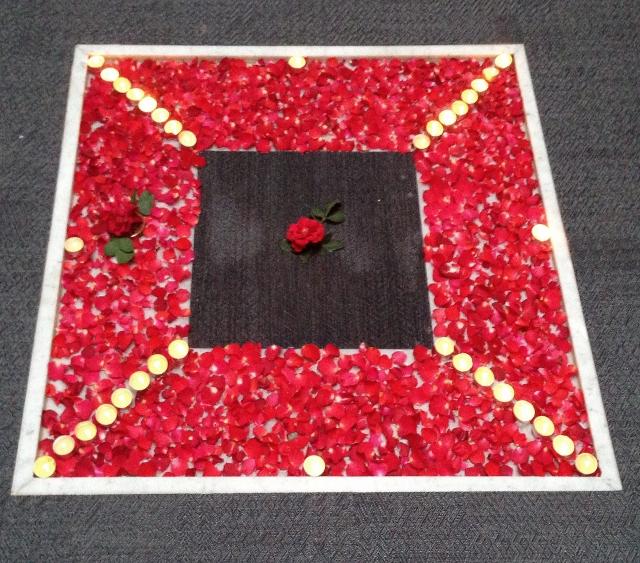 Rose petals and 2tec2 flooring