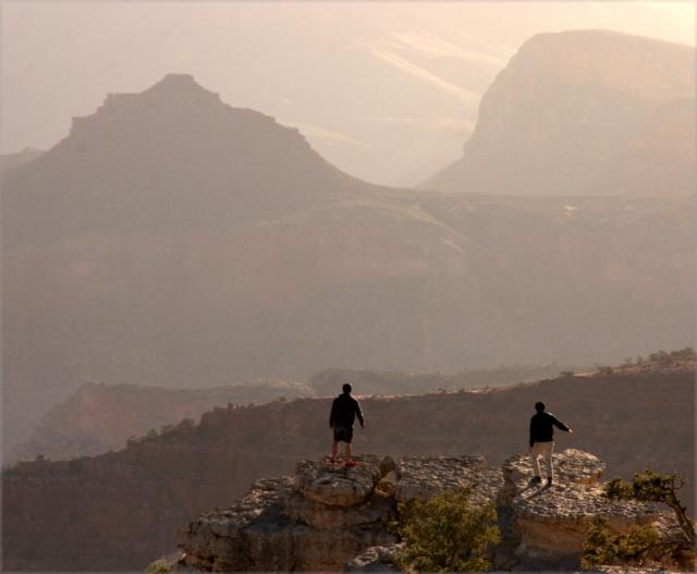 Living on the ledge, Grand Canyon 3.17.16