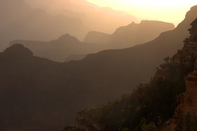 Morning haze 002, Grand Canyon 3.17.16