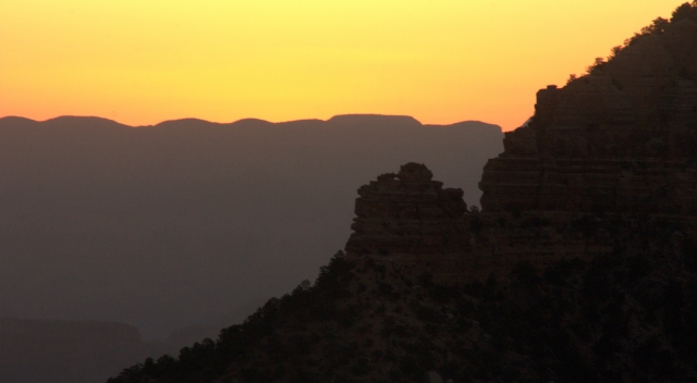 Nearing sunrise Grand Canyon 002 3.17.16