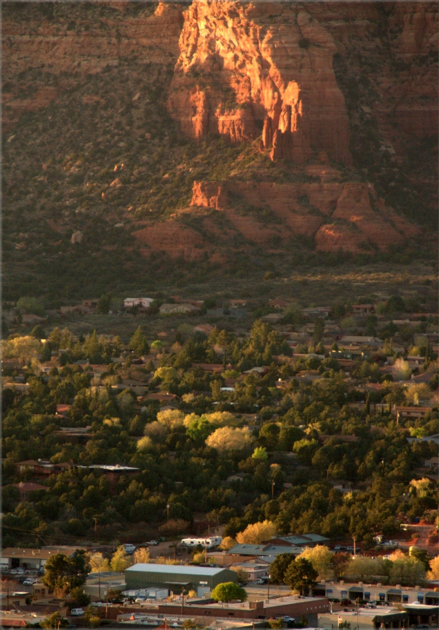 Sunset over Sedona 3.17.16