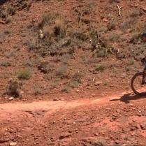 Mountain biking near Cathedral Rocks, Sedona 3.18.16