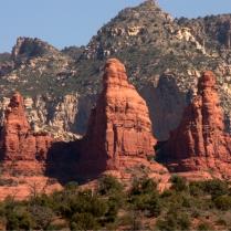 The landscape near Cathedral Rocks 004, Sedona AZ 3.18.16