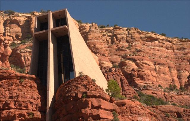 Holy Chapel of the Cross exterior 003, Sedona AZ 3.19.16