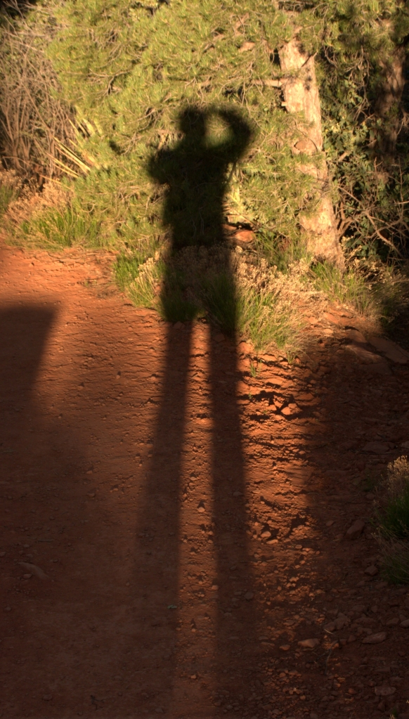 I cast a large shadow, Sedona 3.19.16
