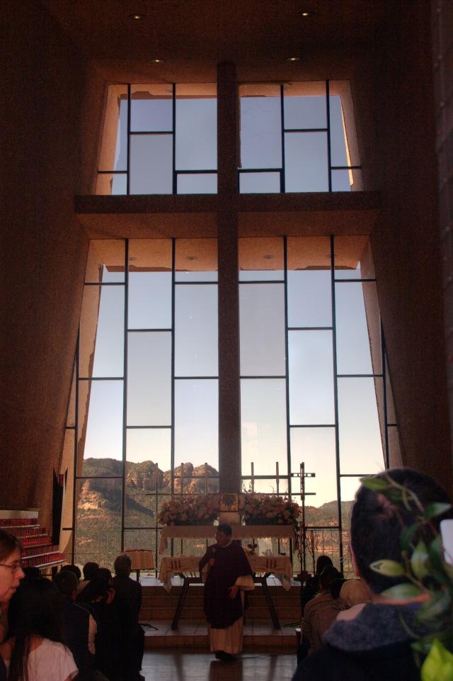 Interior of Holy Chapel of the Cross 002, Sedona 3.19.16