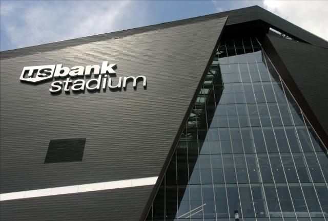 East side US Bank Stadium