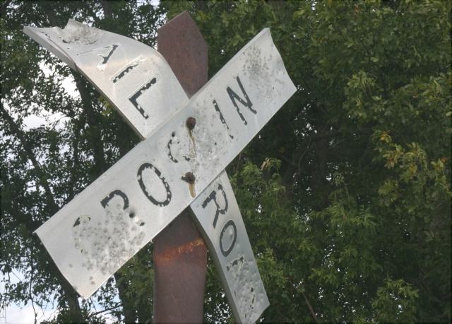 bent-and-shot-to-hell-railroad-crossing-sign-southern-mn