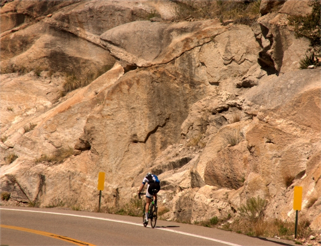 x-marks-the-spot-of-bicyclist-going-up-the-road-to-mt-lemmon